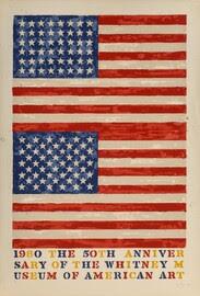 Duas bandeiras (aniversário de Whitney)