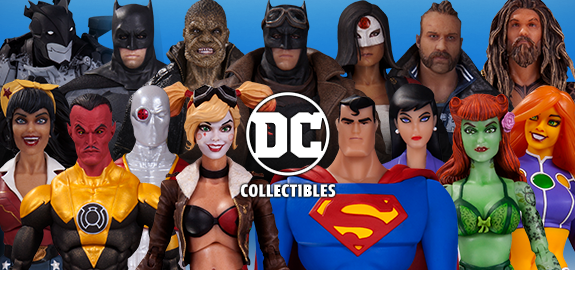 NEW DC COLLECTIBLES ANNOUNCED AT SDCC