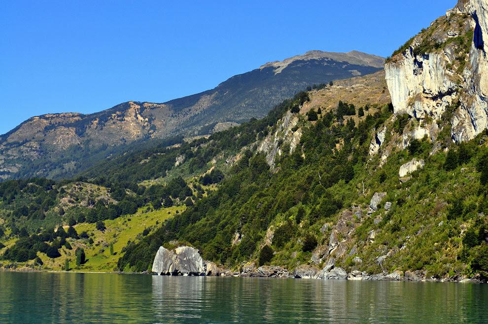 Marble Cave National Reserve - Lake General Carrera
