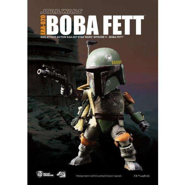 Image of Star Wars Egg Attack Action EAA-020 Boba Fett (Empire Strikes Back) PX Previews Exclusive