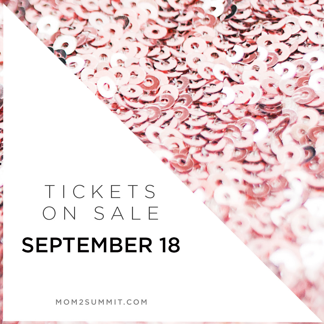 Mom 2.0 Summit Tickets: On sale September 18th