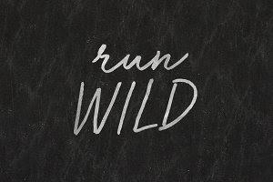 Run Wild Font