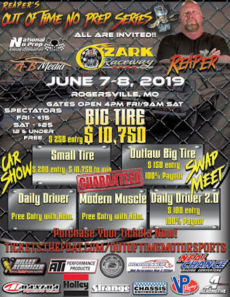 Ozark International Raceway, Rogersville, MO - Reaper's Out of Time