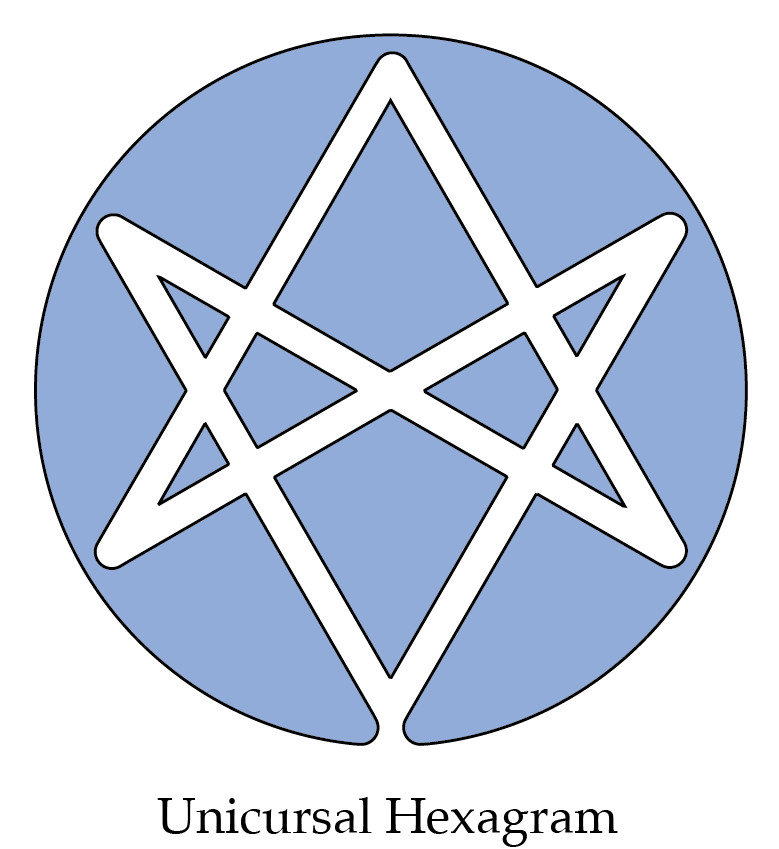 Unicursal Hexagram