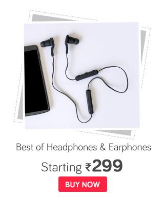 Best of Headphones & Earphones Starting 299