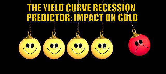 The Yield Curve Recession Predictor: Impact on Gold?