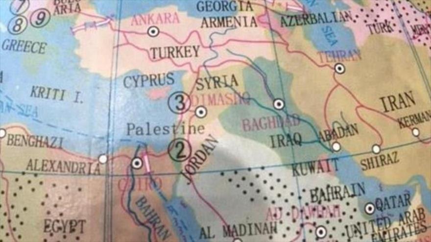 La empresa australiana Typo borró el nombre de Israel del mapamundi