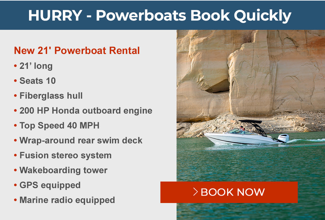 Hurry! Powerboats book quickly