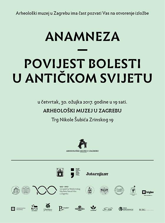 AMZ – Otvorenje izložbe 'Anamneza – povijest bolesti u antičkom svijetu'