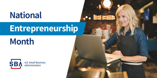 National Entrepreneurship Month