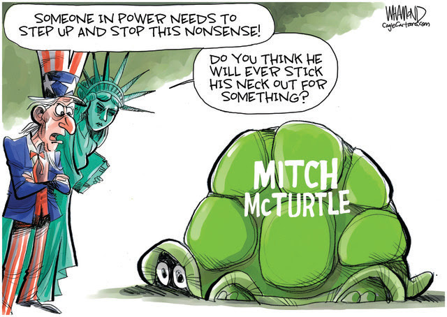MITCH MCCONNELL, SENATE MINORITY LEADER, GOP ENABLES TRUMP, TRUMP'S LAUGHABLE ELECTION CLAIMS, EMBARRASSING LEGAL CHALLENGES, CRAZY ALLEGATIONS