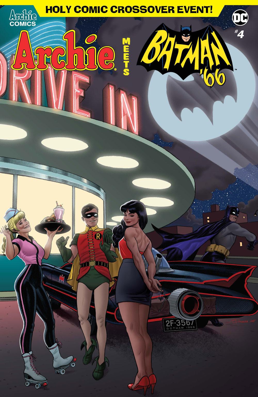 Archie Meets Batman '66 #4: CVR D Quinones