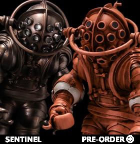Sentinel Diving Suit Figures