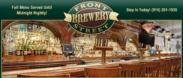 Front Street Brewery Masthead