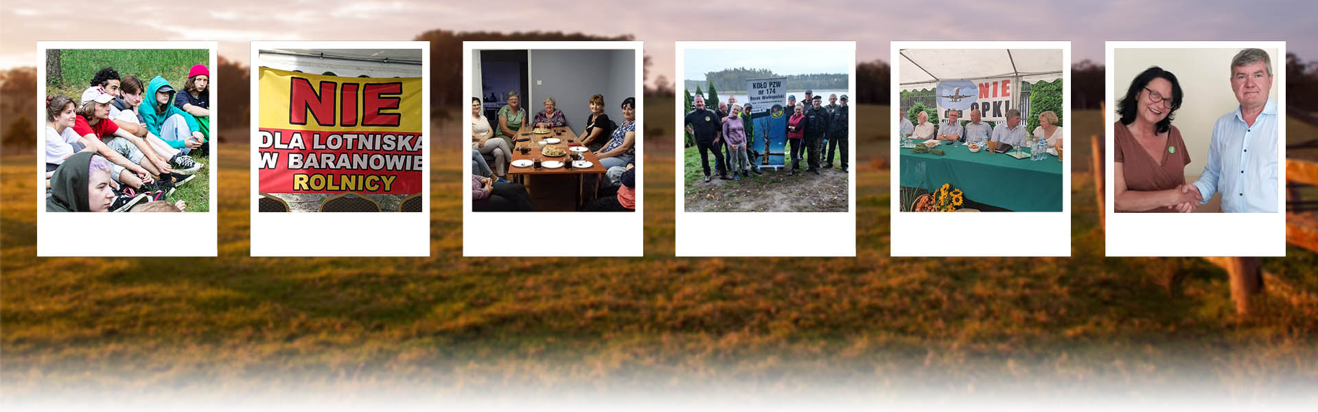 Collage of pictures of the on-the-ground team (including activists travelling, meeting women, in assemblies, etc