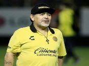 Maradona se prepara para dirigir su segundo campeonato en el fútbol mexicano.