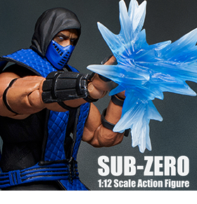 MORTAL KOMBAT KLASSIC VS. SERIES - 1/12 SCALE SUB-ZERO
