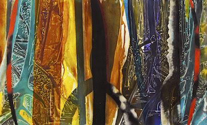 Autor: Carlos Vergara - técnica mista sobre tela - Dimensões: 110 cm X 180 cm - ano: 2013