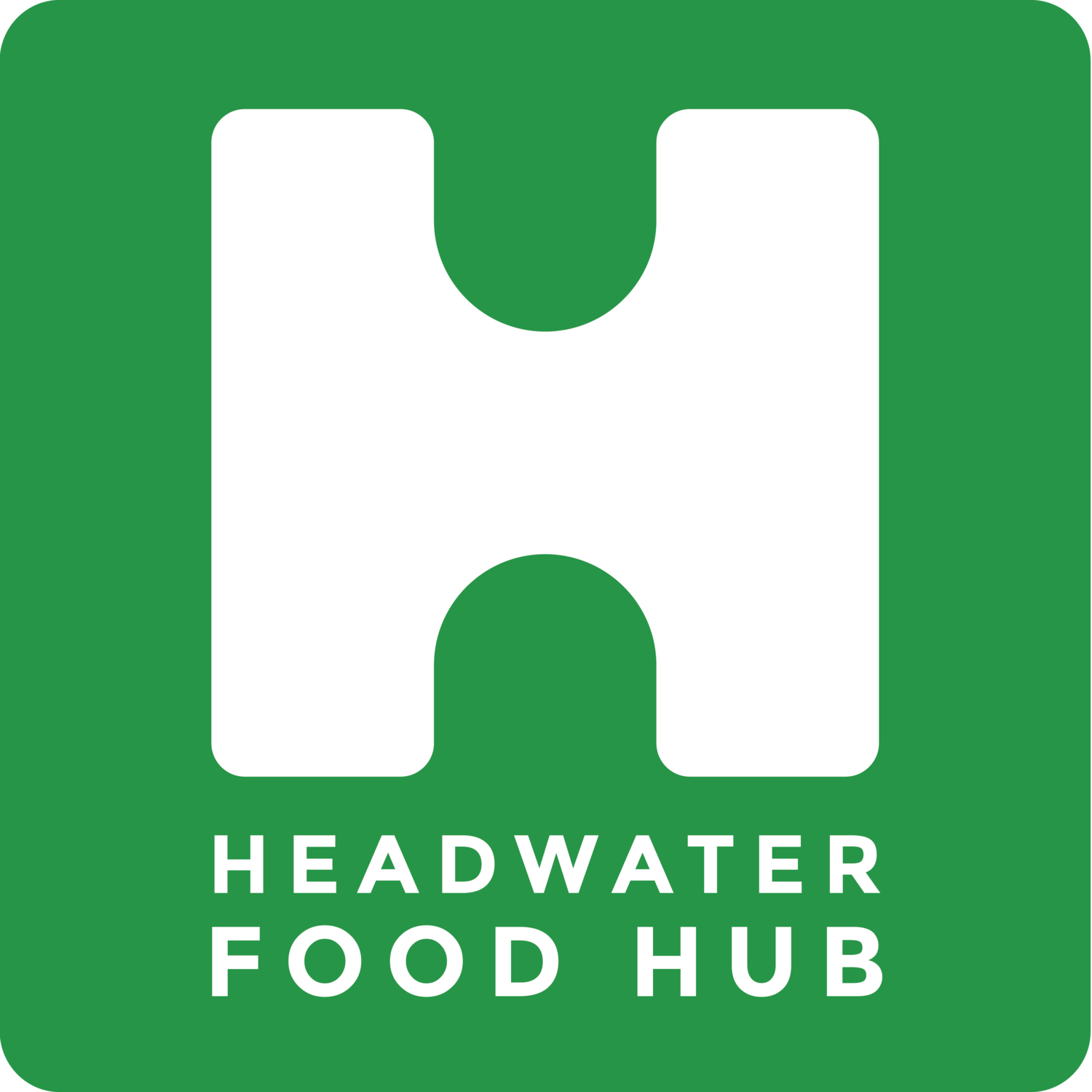 Headwater Food Hub logo