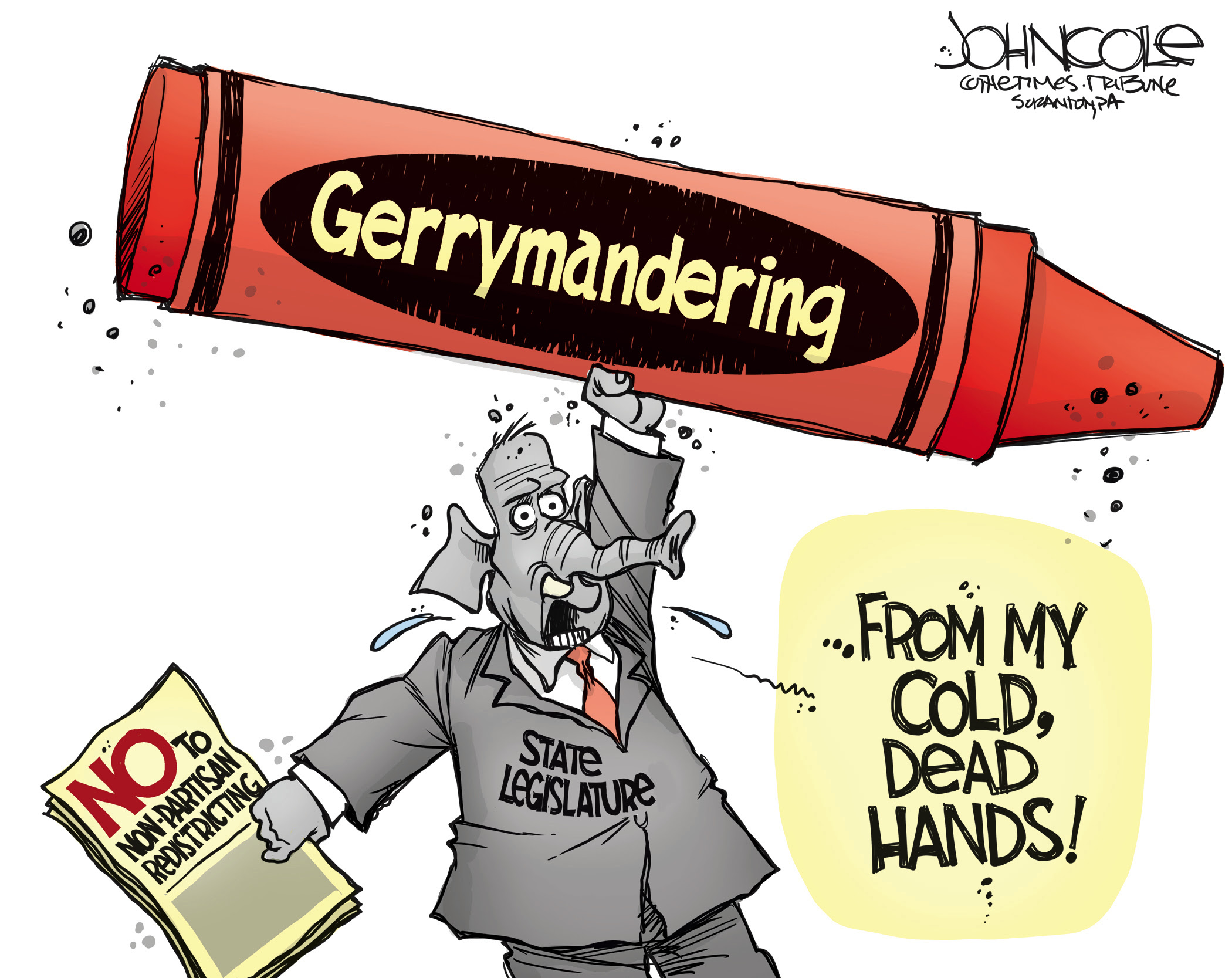 Republicans rely on gerrymandering to cling to power.