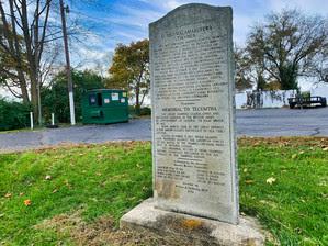 Tecumseh Memorial Marker