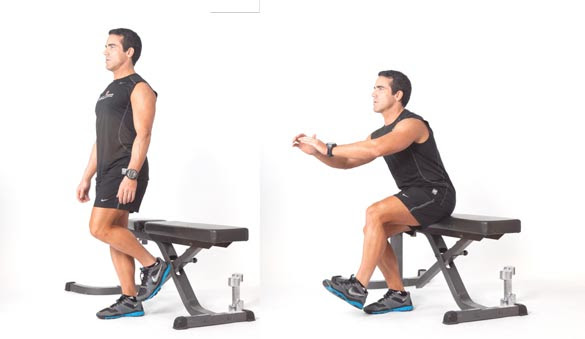Image result for single leg bench squat