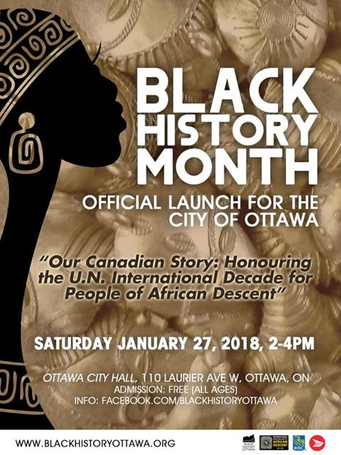 Black History Month City of Ottawa official Launch