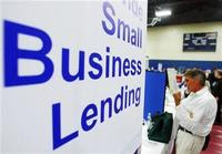 Small Business Lending Sign