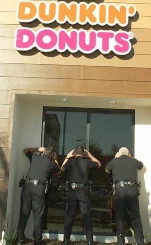 police donuts