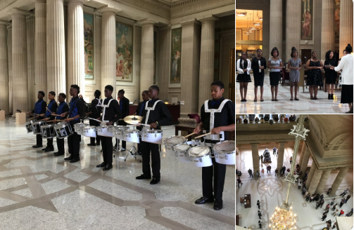 Mount Vernon student performers at State Education Building