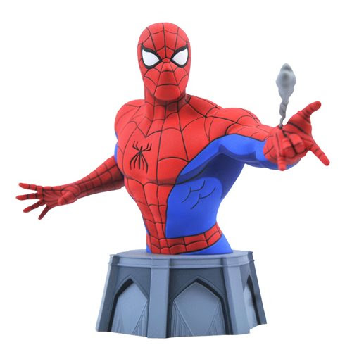 Image of Marvel Animated Spider-Man Bust - FEBRUARY 2021
