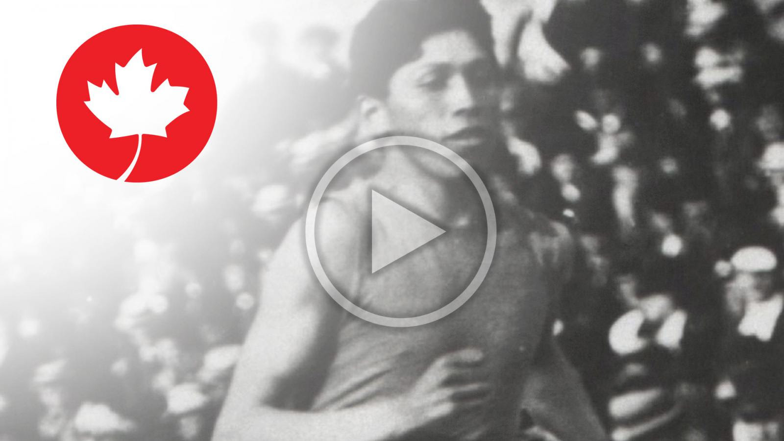Canadian Olympians who fought in the First World War