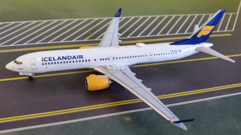 Boeing 737 MAX9 Icelandair TF-ICA