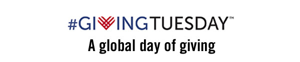 #givingtuesday - A  global day of giving