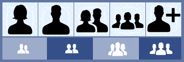 New Facebook gender icons