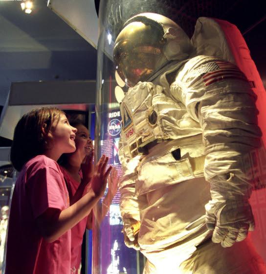 Take a trip to Space Center Houston
