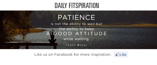 Daily Fitspiration. Like us on Facebook for more inspiration.
