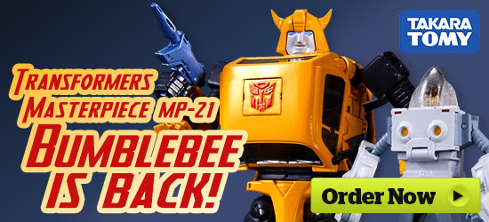 Transformers News: HobbyLinkJapan Sponsor News - Movie the Best, Legends, MP-21 Bumblebee