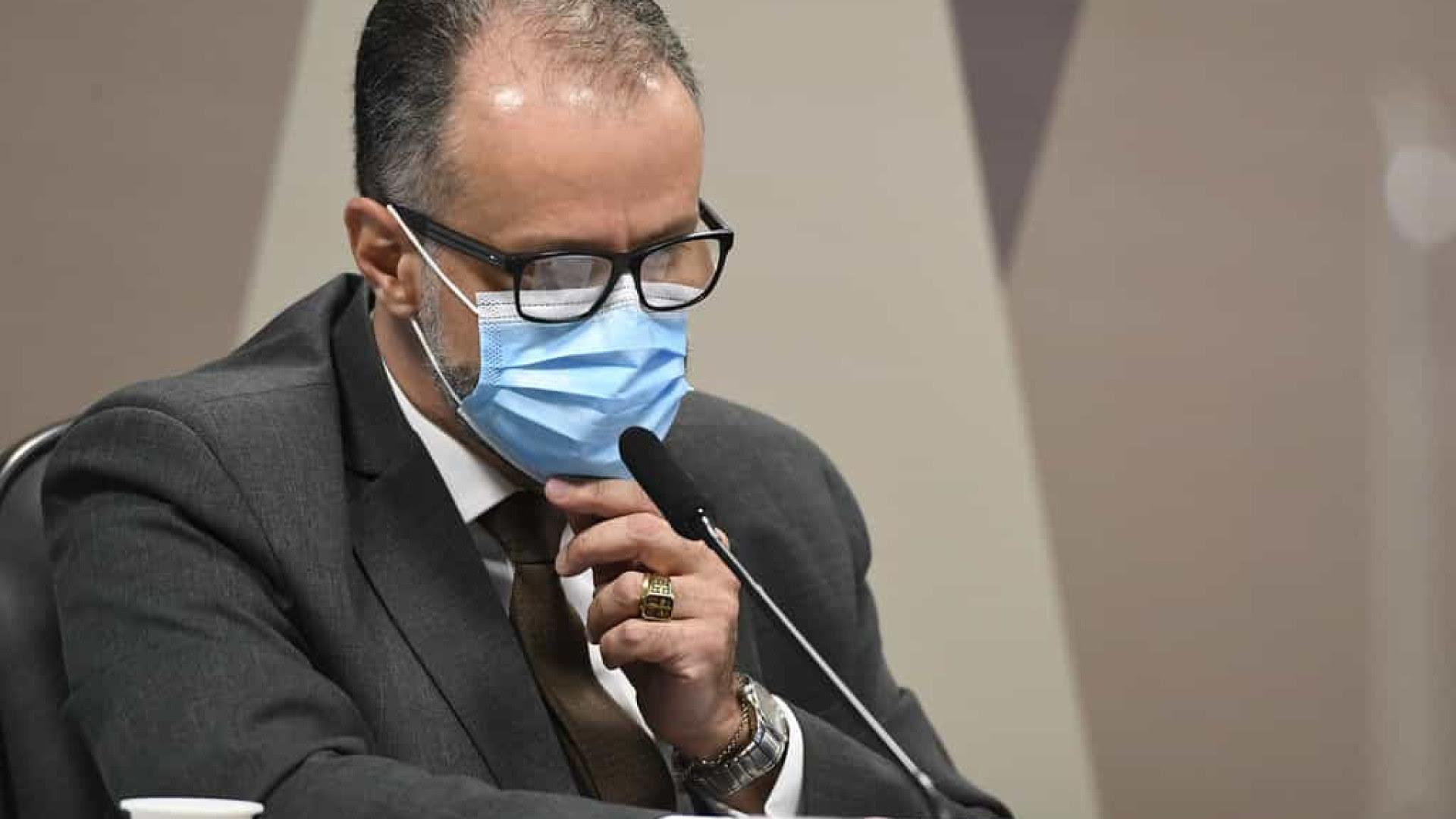 Presidente da Anvisa critica à CPI uso de cloroquina e falas negacionistas de Bolsonaro