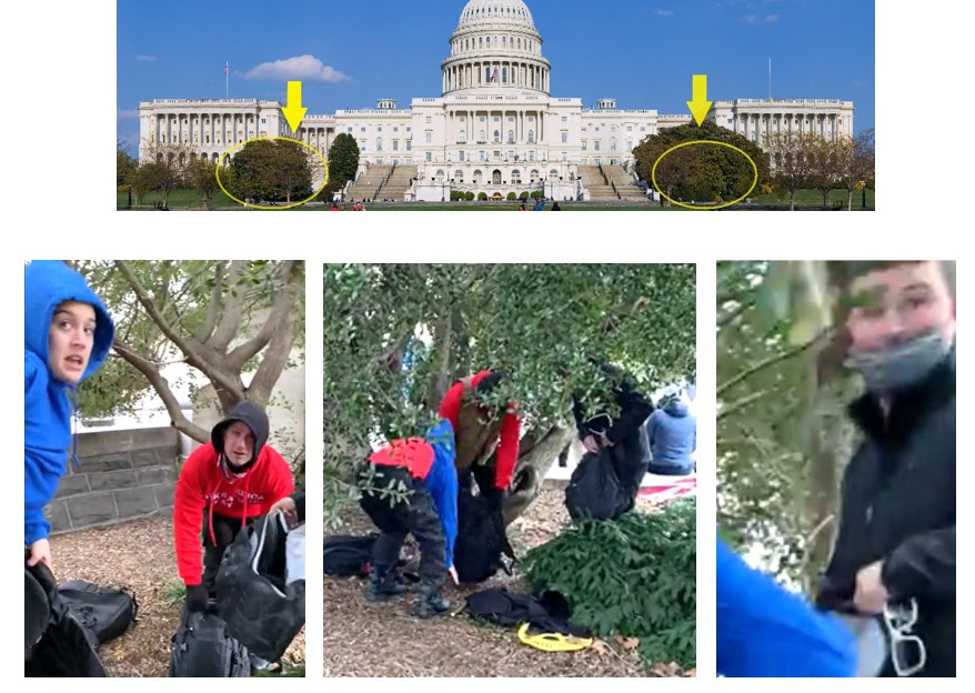 IGNORED BY THE MEDIA ELITES AND FBI: List of 20 Individuals at the Capitol on January 6th – All Appear to be Connected to Antifa or Far Left Groups Most-Wanted-3-Three-Changing-Clothes