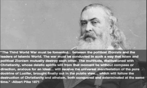 Albert Pike World War 3 was Predicted