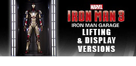 Iron Man 3: 1/9 Scale Iron Man Hall of Armor