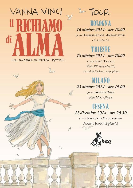 """""""Il richiamo di Alma"""" di Vanna Vinci in tour: Bologna, Trieste, Milano, Cesena - a99e858b-fdd8-4454-81b5-7b13ac6cb749"""