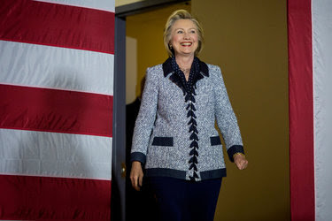Hillary Clinton attended a campaign event in Pittsburgh on Tuesday.
