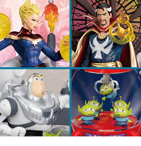 PX PREVIEWS EXCLUSIVE D-STAGE STATUES