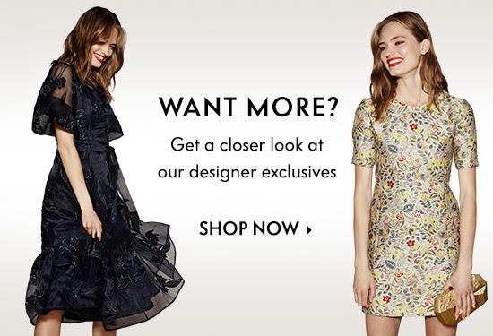 Designer exclusives
