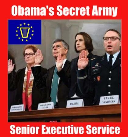 senior executive service obama army