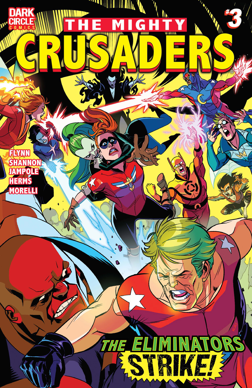 The Mighty Crusaders #3 CVR A: Shannon