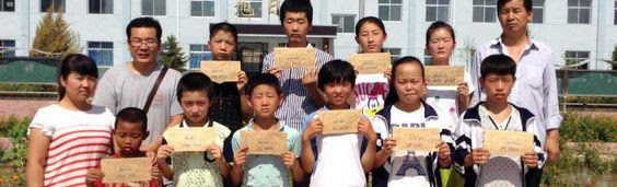 These students are in Gansu Province_ Baiying Prefecture_ Jingyuan County. Only two of them have sponsors. Contact us to sponsor one of them. _