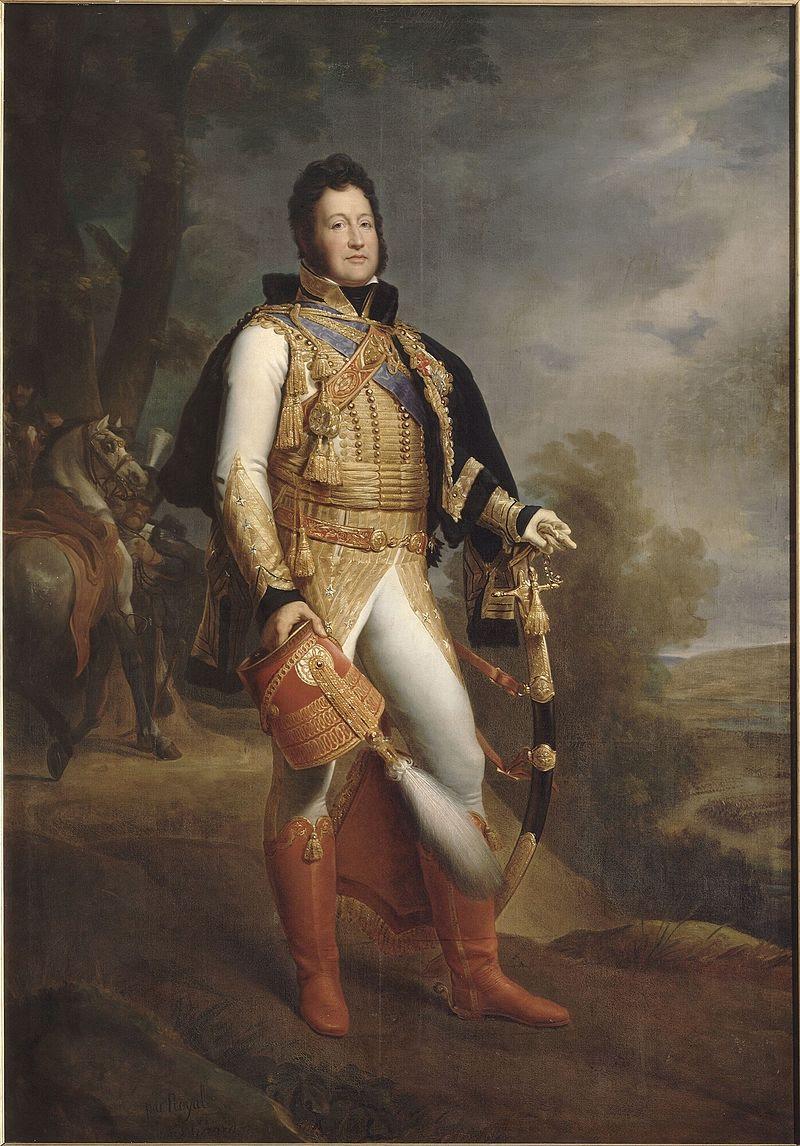 Жерар Луи-Филипп Риэ (1773-1850), парикмахерский салон герцога д'АН онихофорами-де-полковника-генерала де Hussards (1817).Формат файлов jpg